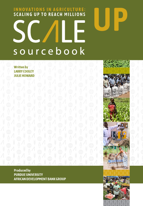 Sourcebook cover green and white with yellow text