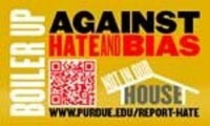 Boiler Up Against Hate and Bias logo