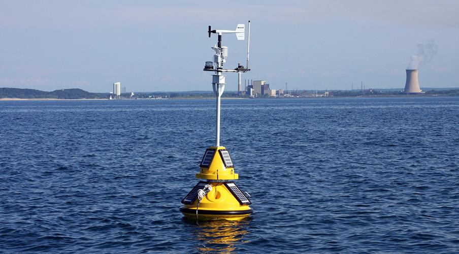 buoy in water